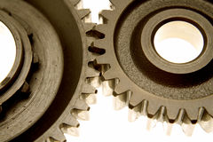 Two cogs Royalty Free Stock Photo