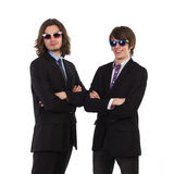 Two colleagues Royalty Free Stock Images