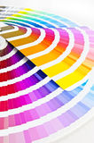 Two Color charts Stock Images