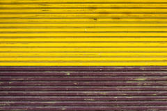 Two color fence Royalty Free Stock Image