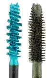 Two color mascara Brushes Stock Photography
