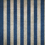 Two color striped denim background Royalty Free Stock Image