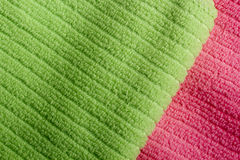 Two color terry towels Stock Photography
