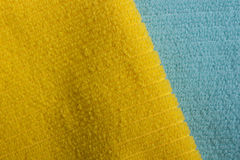 Two color terry towels Royalty Free Stock Image