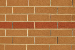 Two-colored brick wall pattern Stock Photo