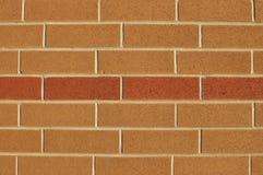 Two-colored brick wall pattern Stock Photo