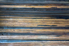 Two Colored Horizontall Flooring Planks Background Stock Images