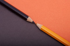 Free Two Colored Pencils Stock Photos - 15655383