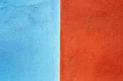 Two-colored stucco texture Stock Photo