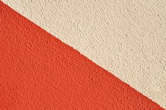 Two colored wall Royalty Free Stock Photography