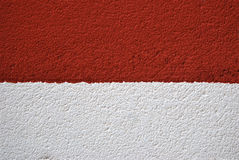 Two colored wall Royalty Free Stock Photos
