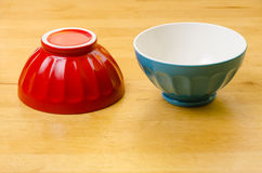 Two colorful bowls Royalty Free Stock Photography