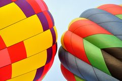 Two Colorful Hot Air Balloons Royalty Free Stock Photo