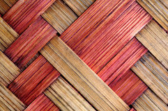 Two colors wicker surface Royalty Free Stock Photos