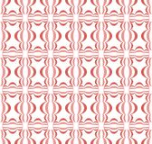 Red gradient on white three ball shaped Chinese lantern pattern seamless repeat background vector illustration