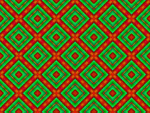 Two-coloured Bacground with Rhombs. Abstract background with a regular squared pattern stock illustration