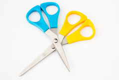 Two  scissors Royalty Free Stock Images