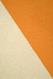 Two colours wall background Stock Image