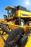 Two Combine Harvester Royalty Free Stock Photo