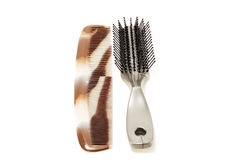 Two combs Royalty Free Stock Image