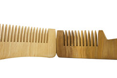 Two combs Royalty Free Stock Photos