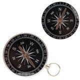 Two compass closeup Stock Photo