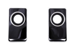 Two computer speakers Royalty Free Stock Images