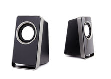 Two computer speakers Stock Photography