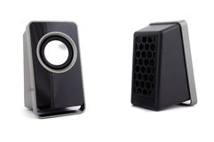 Two computer speakers Stock Image