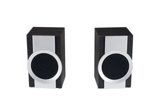 Two computer speakers Royalty Free Stock Image