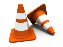Two cones Stock Photos
