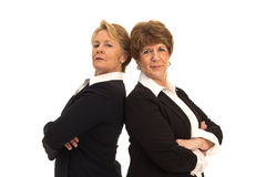 Two Confident Business Women Royalty Free Stock Image