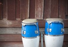 Two congas Royalty Free Stock Photo