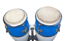 Two congas isolated Royalty Free Stock Photos