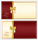 Two congratulation card Stock Images