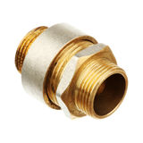 Two connected fitting Stock Image