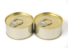 Two conserved cans (2) Royalty Free Stock Photography
