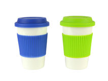 Two Containers for Hot Drinks Stock Image