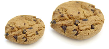 Two Cookies Royalty Free Stock Images