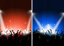 Two Cool Party Posters Stock Image