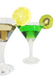 Two cordials glasses Stock Photos