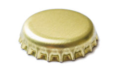 Two corks from beer and lemonade Stock Photography