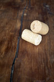Two corks Stock Images
