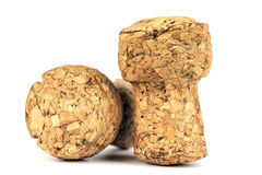 Two corks of a sparkling wine Stock Photo