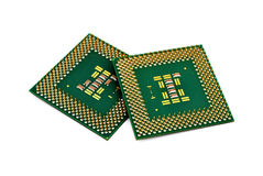 Two CPU Stock Photography
