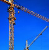Two cranes Royalty Free Stock Photos