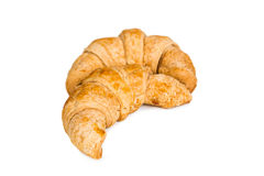 Two croissant Stock Image