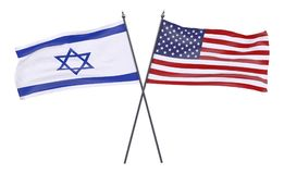 Free Two Crossed Flags Stock Photos - 98871683