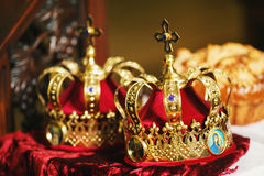 Two crown Stock Images