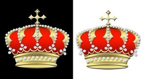 Two crowns Royalty Free Stock Photos
